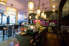 Интерьер штанги Coffe Стоковое Фото