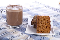 Coffe And Breakfast Cake Royalty Free Stock Photo