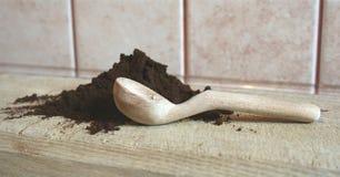 Coffe aterrado Imagem de Stock