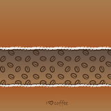 Coffe background Royalty Free Stock Photography