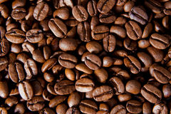 Coffe beans. Background. Close-Up Stock Photo