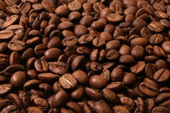 Coffe Beans. Full frame of coffe beans Royalty Free Stock Image
