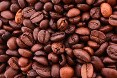 Coffe beans background Royalty Free Stock Images