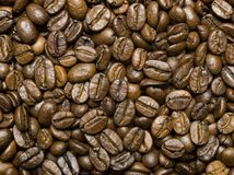 Coffe beans background Royalty Free Stock Image