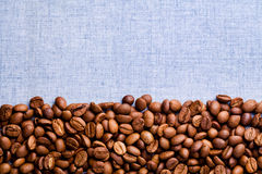 Coffe Beans Background Stock Photo