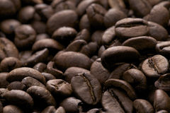 coffe beans - caffe espresso Royalty Free Stock Images