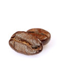 Coffe beans macro Stock Images