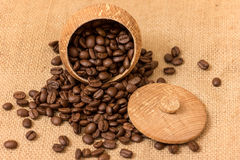 Coffe beans Stock Image