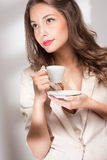 Coffe beauty. Stock Photography