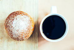 Coffe and bread Royalty Free Stock Photo