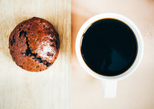 Coffe and bread Royalty Free Stock Image