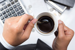 Coffe break Stock Photography