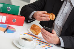 Coffe break in office Stock Image