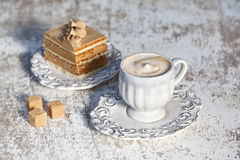Coffe and Cake Royalty Free Stock Images