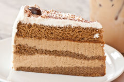 Coffe cake Stock Photography