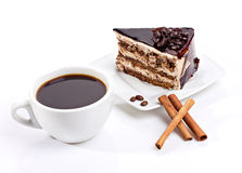 Coffe and cake Royalty Free Stock Photo