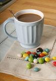 Coffe and candies Stock Photography