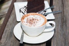 Coffe chaud images stock