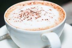 Coffe chaud sur la tasse de café photos libres de droits