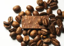 Coffe and chocolade Stock Image