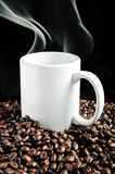 Coffe. E and mugs.Can be applied to the media as well stock images