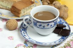 Coffe compostion Stock Images