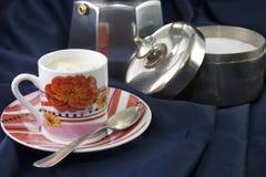 Coffe con crema Immagini Stock Libere da Diritti