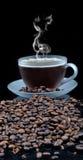 Coffe con los gránulos Foto de archivo libre de regalías