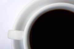 Coffe cup with clipping paths Royalty Free Stock Image