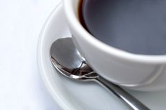 Coffe cup with clipping paths Stock Photos
