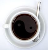 Coffe cup with clipping paths Stock Photo