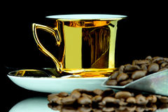 Coffe cup isolated Royalty Free Stock Image