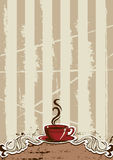 Coffe Cup Menu Royalty Free Stock Image