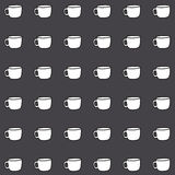 Coffe cup wallpaper great for any use. Vector EPS10. Stock Photo