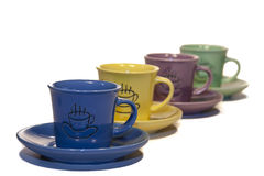 Coffe cups Stock Photos