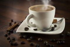 Coffe cynamon zdjęcia royalty free