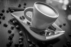 Coffe cynamon zdjęcia stock