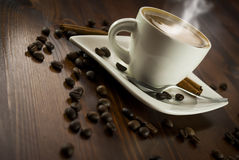 Coffe cynamon Fotografia Royalty Free