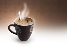 coffe czas Obraz Royalty Free