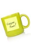 coffe czas obraz stock