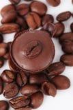 coffe czekoladowy cukierki Zdjęcia Stock