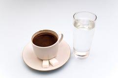 Coffe in de ochtend stock afbeelding