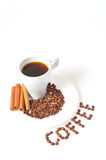 Coffe with decoration Stock Photography
