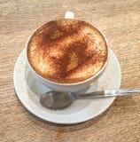 Coffe del cappuccino Fotografie Stock Libere da Diritti