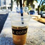 Coffe del ghiaccio Immagini Stock