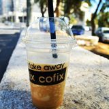 Coffe do gelo Imagens de Stock