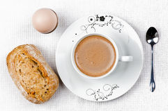 Coffe do pequeno almoço Imagens de Stock Royalty Free