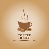 Coffe dom ilustracja wektor