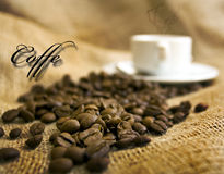Coffe drink Stock Image