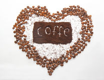 Coffe. Drink coffe, coffe beans, coffe crisp, the heart of coffe, morning coffe, turkish coffe stock images